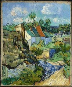 Vincent Van Gogh, Houses at Auvers, c.1890