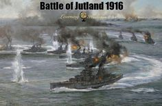 Battle of Jutland 1916: World War I | via @learninghistory