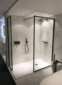 Bath room minimalist white matte black 41 ideas #bath