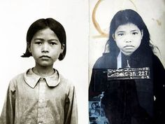 Victim of the Cambodian Khmer Rouge