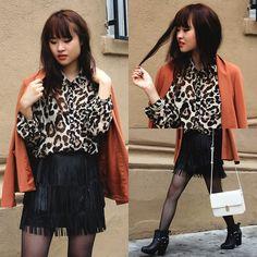 Skirt and shirt...