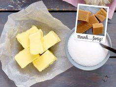 Süße Grüße aus der Küche: Das klassische Fudge-Rezept ergibt rund 66 zuckersüße Stücke zum Verschenken und Vernaschen.