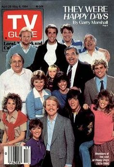 Not only the show! But the TV guide! I forgot all about the TV Guide! Great Tv Shows, Old Tv Shows, Caricatures, Happy Days Tv Show, 1980s Tv, Vintage Television, Tv Guide, Classic Tv, Best Tv