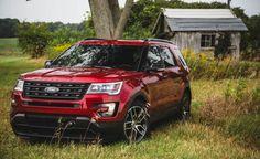 2017 Ford Explorer XLT, Sport, Platinum