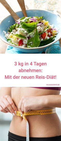 Rice diet: lose in 4 days - Detox Diet Ideen Clean Eating, Healthy Eating, Vegan Smoothies, Food Videos, Food Porn, Health Fitness, Lose Weight, Low Carb, Food And Drink