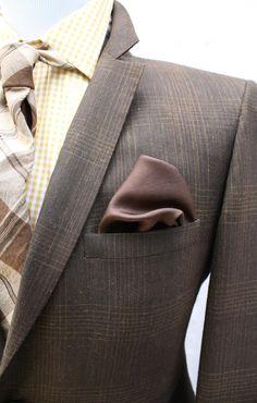 Mens Vintage 2 Piece Plaid Suit by ViVifyVintage