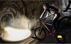 Mini-Lanterna MULTI-USO para bicicleta farol impermeável 3800 Lúmens