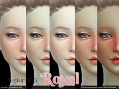 Just improve from my last :) Hope you like it ! Found in TSR Category 'Sims 4 Skintones'