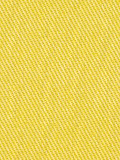 Yellow Cotton Twill Upholstery Fabric  Solid by PopDecorFabrics