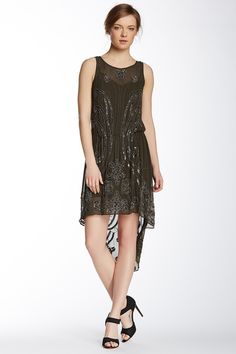 Beaded Silk Dress by Haute Hippie on @nordstrom_rack