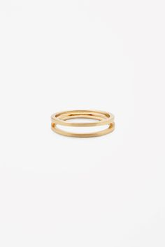 COS | Double circle ring