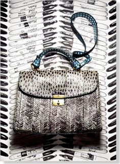 Marc Jacobs Bag, $2,695. Clipped from Marie Claire using Netpage.