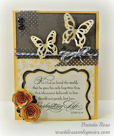 CTMH Artiste CRICUT cartridge Rose Blossom Legacies: Everlasting Life