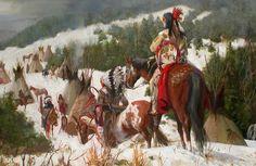 CARL  HANTMAN - Return of the Winter Warriors