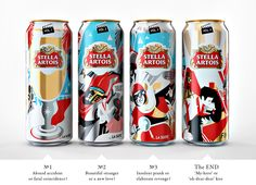 Stella Artois Limited Edition for Cannes Film Festival — The Dieline - Branding & Packaging