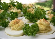 Deviled Eggs w/cottage cheese