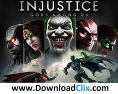 Injustice Gods Among Us Free Download - Download Clix