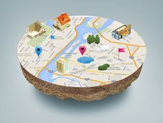 arunwilson: do 3D Map Mock up with your Current Logo for $5, on fiverr.com