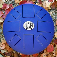 The unique tone of the HAPI Drum, is created by a tuned vibrating tongue of steel.