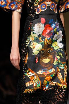 Dolce & Gabbana Spring 2013 Ready-to-Wear Collection on Style.com: Atmosphere