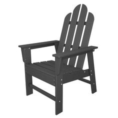Follow us to http://freecycleusa.com POLYWOOD ECD16GY Long Island Dining Chair, Slate Grey