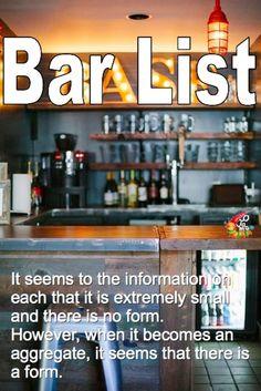 行きつけにしたい-Bar Lidt(バーリスト)-|ちょっとおじゃまな情報屋さん!
