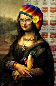 A modern Mona Lisa ;-)
