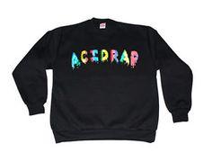 Acid Rap Crewneck Chance The Rapper Hip Hop Mixtape Kendric TDE School Boy Q Tee