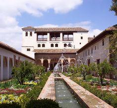 The Alhambra in Granada