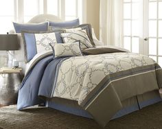 Talia 8 Piece Comforter Set