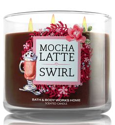 Bath and Body Works Mocha Latte Swirl Candle - Espresso Coffee and Caramel Fragrance - Limited Edition Cafe Candle Collection with Decorative Lid -- Read more reviews of the product by visiting the link on the image.