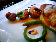 slimak  #snails#asparagus#home#kitchen#