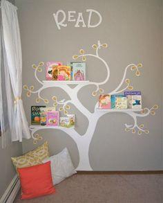 Reading Tree, Reading Nooks, Reading Corner Kids, Book Nooks, Reading Corner Classroom, Library Corner, Reading Wall, Shared Reading, Girl Reading