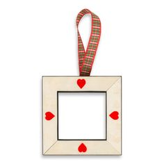 Mini Heart Frame Ornament