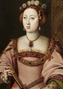 Maria Manuela de Portugal, princesa das Astúrias, por artista desconhecido.
