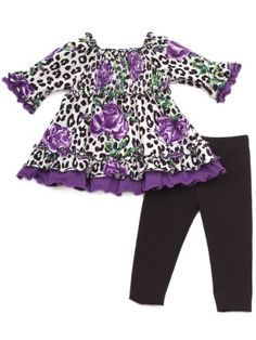 Rare Editions Baby-girls Infant Leopard Print « Clothing Impulse