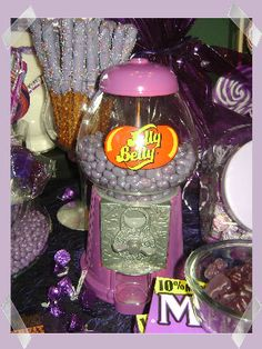 More Purple Candy Party Ideas...