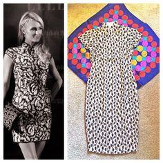 Elegant Vintage Woven Linen Cheongsam Qipao Dress