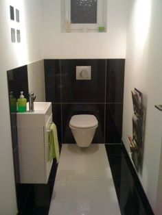 1000 images about deco wc on pinterest photos small basin and toilet paper - Kleur wc deco ...