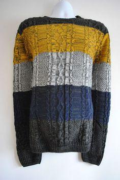 Colour Block Jumper £14.99