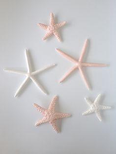 Ceramic Starfish in pastels @ Moko Artspace #HotwaterBeach #NZART