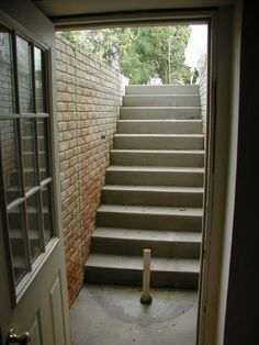 1000 images about basement entrance ideas on pinterest for Adding exterior basement entry