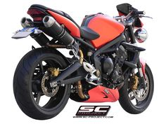GP-Tech performance motorcycle exhaust is constructed from the finest quality components - bringing together design, performance and advanced technology! Triumph Street Triple, Motorcycle Exhaust, Exhausted, Projects, Motorbikes, Log Projects