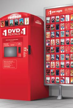 Free one-night movie rental code from Redbox!