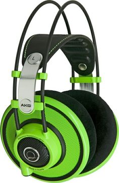 AKG Quincy jones q701 vert semi ouvert - Casques semi ouverts - Semi ouverts Pro | Woodbrass.com