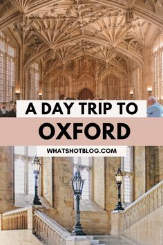 Planning to travel Oxford as a day trip and want to know what to do in Oxford, England? This guide, written by an Oxford University student, will give you the low down on all the best things to do in Oxford in just one day!  #whatshotblog #oxford #traveltips #england Harry Potter Filming Locations, Disney Travel Agents, Oxford City, Ireland Travel Guide, Day Trips From London, Air Balloon Rides, Cool Cafe, Dream City, Best Cities