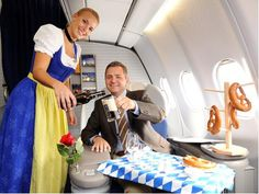Lufthansa Oktoberfest Uniform