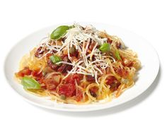 Spaghetti or Not Recipe : Food Network Kitchens : Food Network - FoodNetwork.com - minus the pancetta, you have a meatless entree