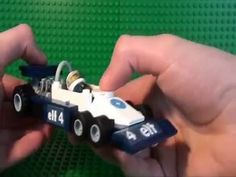 Lego Tyrell P34 and Ferrari 312 Formula 1 Cars