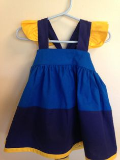 Hey, I found this really awesome Etsy listing at https://www.etsy.com/listing/273427374/finding-nemo-dory-dress